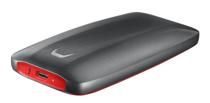 Samsung zeigt portable SSD X5 mit Thunderbolt 3-Anschluss