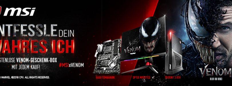 Venom – MSI startet Kooperation mit Sony und veranstaltet Gewinnspiel