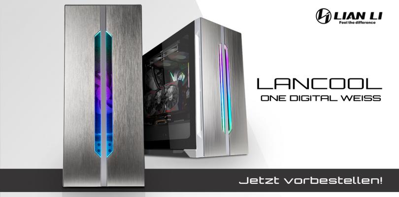 Lian Li LANCOOL ONE – Midi-Tower kommt als Digital White Edition