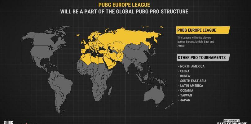 PUBG Europe League in Zusammenarbeit mit StarLadder gegründet