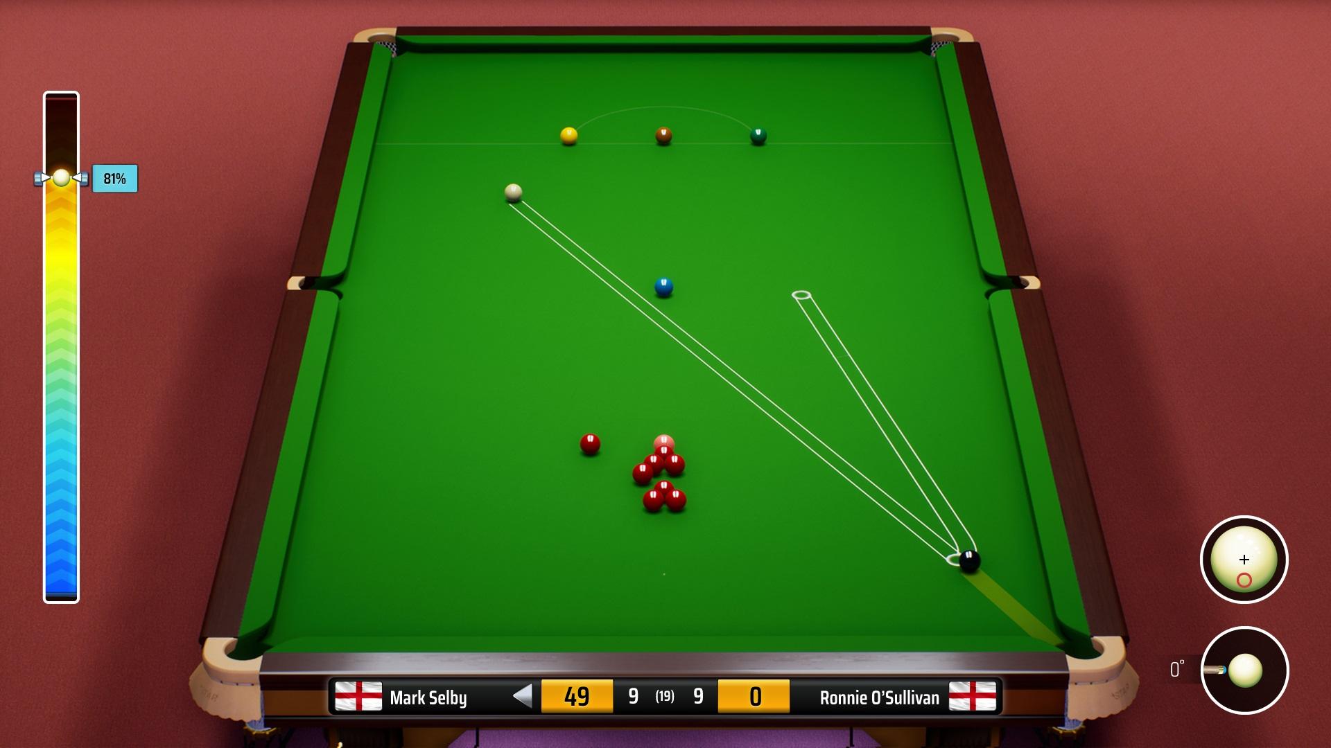 Snooker Spiel