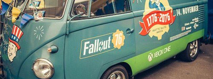 Fallout 76 kommt mit dem Vault-Bus auf die Game City 2018
