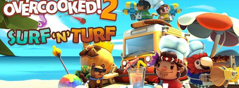 """Overcooked 2 – Neues DLC """"Surf 'n' Turf"""" veröffentlicht"""