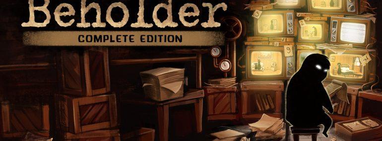 Beholder: Complete Edition erscheint am 06. Dezember für Nintendo Switch