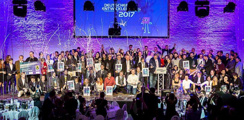 Deutscher Entwicklerpreis 2018 – Die Nominierten stehen fest