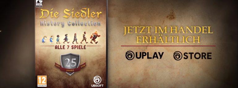 Die Siedler – History Edition mit allen Serienteilen veröffentlicht