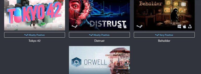 Humble Bundle – Neues Dystopian-Bundle mit Beholder und Distrust