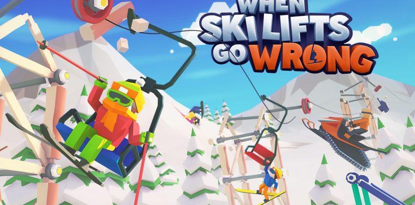 When Ski Lifts Go Wrong für PC und Nintendo Switch veröffentlicht