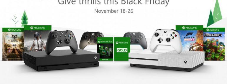 Black Friday Sale von Microsoft für XBox One und Win 10 gestartet