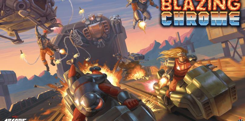 Blazing Chrome – Entwicklertagebuch zum Retro-Plattformer veröffentlicht