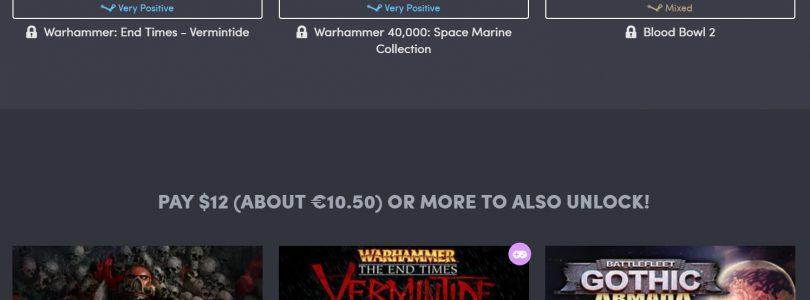 Humble Bundle – Warhammer-Paket enthält Dawn of War 3 und Mehr