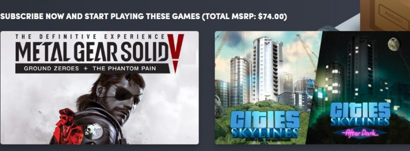 Humble Monthly – Im Dezember mit Metal Gear V und Cities Skylines