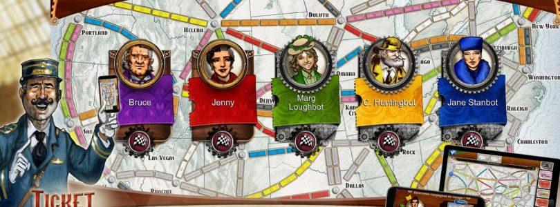 Ticket to Ride via Playlink für PS4 erschienen