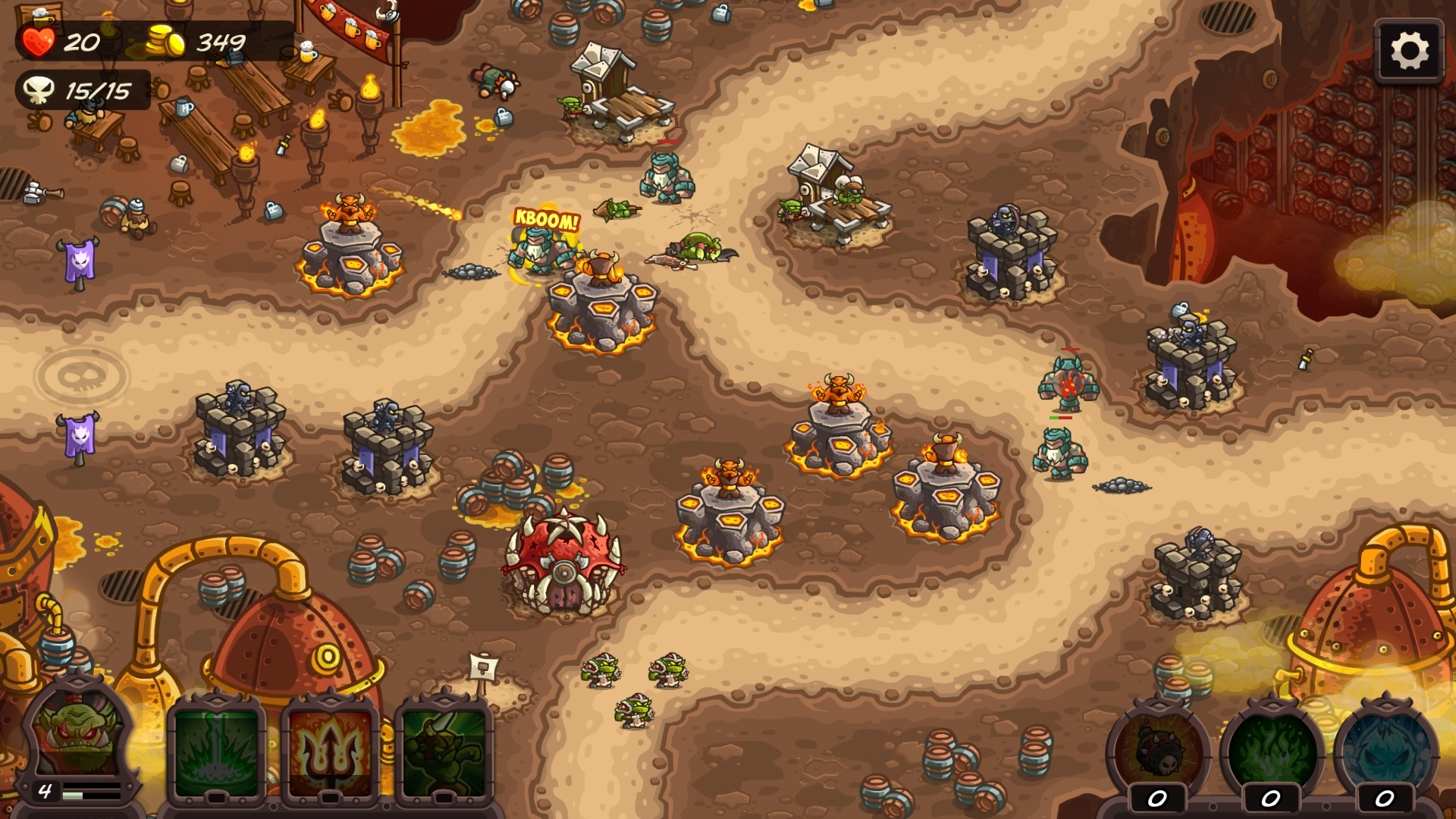 Kingdom rush vengeance - tower defense playbook