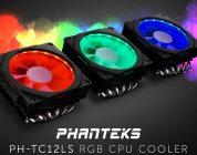 PHANTEKS PH-TC12LS – Kompakter Kühler mit RGB-Beleuchtung im Detail