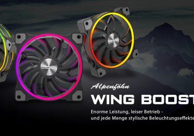 Alpenföhn Wing Boost 3 – RGB-Lüfter starten bei Caseking in den Verkauf
