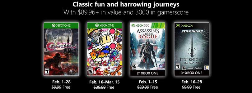 Games With Gold – Hier kommen die Spiele für Februar 2019