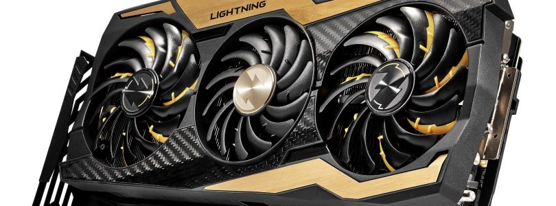 MSI präsentiert Custom-Karte GeForce RTX 2080 Ti LIGHTNING Z