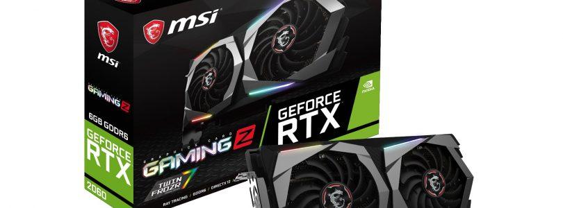MSI präsentiert die Custom-Serie der GeForce RTX 2060