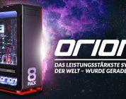 8Pack Orion X2 – Schnellster Fertig-PC der Welt kostet schlanke 39.999,90€