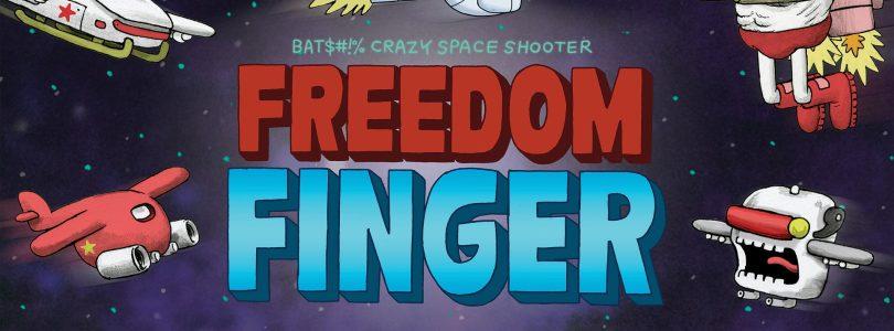 Freedom Finger – Neues von Hand gezeichnetes Shoot'em-Up angekündigt