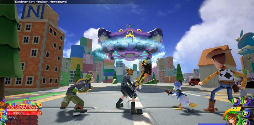 """Kingdom Hearts 3 – Neuer Trailer zum kommenden DLC """"Re Mind"""" veröffentlicht"""