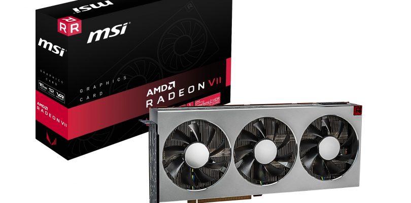 MSI kündigt AMD Radeon VII Grafikkarte an