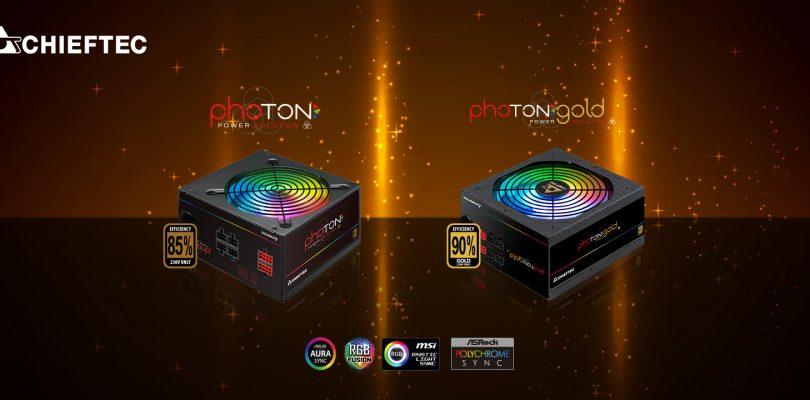 Chieftec kündigt neue RGB-Netzteile namens Photon an