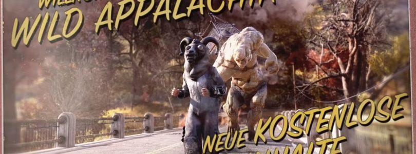 """Fallout 76 – Kostenloses Update """"Wild Appalachia"""" veröffentlicht"""