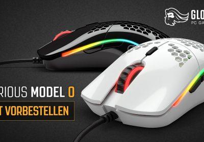 Model O – Neue Gaming-Maus von Glorious PC Gaming Race startet in den Verkauf