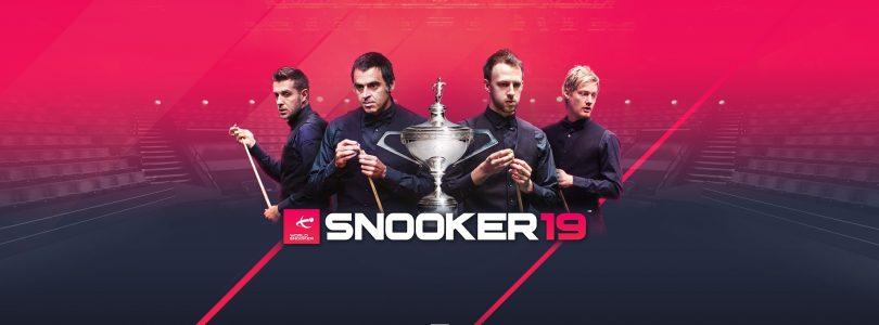 Snooker 19 – Offizielles Spiel kommt für PC und Konsolen