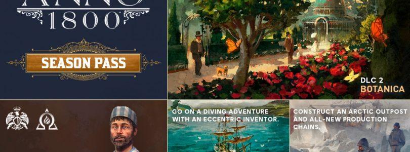 Anno 1800 – Roadmap zeigt Season Pass, kostenlose Inhalte und Upgrade-Möglichkeit