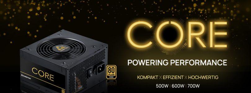 """Chieftec veröffentlicht neue """"Core""""-Netzteilserie mit Gold-Zertifizierung"""