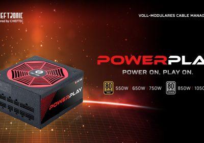 """Chieftronic – Neue PC-Netzteile """"PowerPlay Series"""" aus der Gaming-Sparte von Chieftec"""