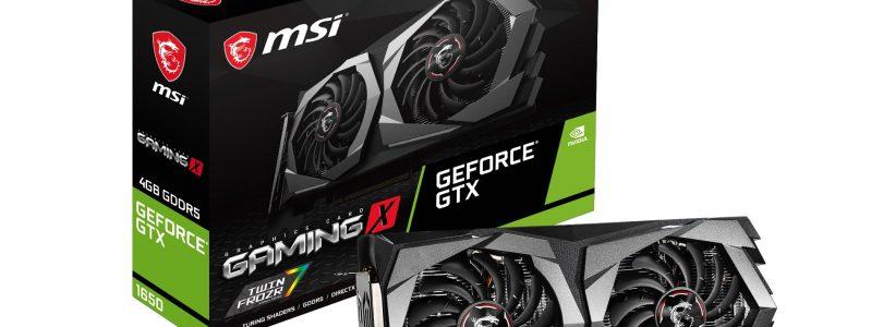 MSI präsentiert neue Grafikkarten mit NVIDIA GeForce GTX 1650