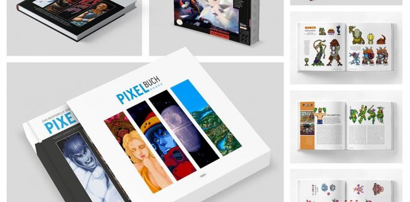 Das SNES-PIXELBUCH erscheint am 12. Juli 2019