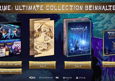 Trine Ultimate Collection – Gameplay-Trailer zum Bundle veröffentlicht