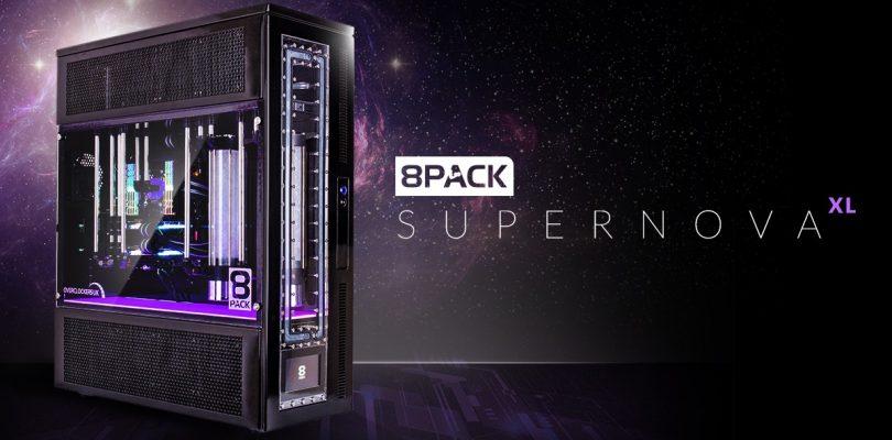 8Pack Supernova XL – Gaming-PC um schlanke 16.999,90 € startet bei Caseking