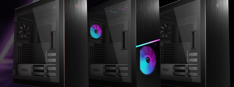 MSI zeigt neue Gehäuse-Serie MPG SEKIRA 500 auf der Computex 2019