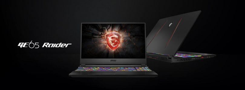 MSI präsentiert neuen Gaming-Laptop GE65 Raider