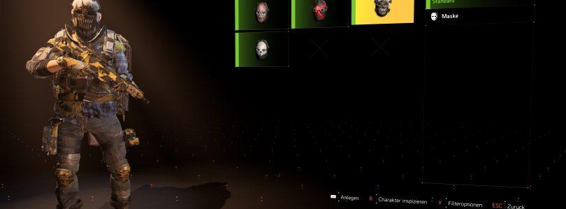 The Division 2 – So kommt ihr an die begehrten Masken