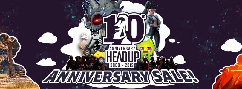 Headup feiert sein 10-jähriges Bestehen mit einem großen Sale