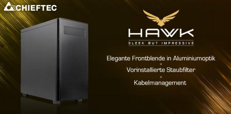 Chieftec Hawk – Neues Gaming-Gehäuse richtet sich an Einsteiger