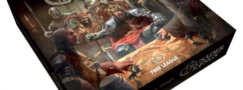 Crusader Kings erscheint als Brettspiel am 01. August