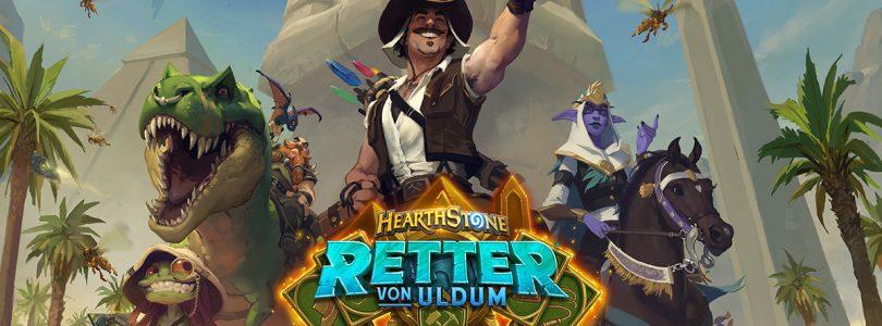 """Hearthstone – Die Erweiterung """"Retter von Uldum"""" wurde veröffentlicht"""