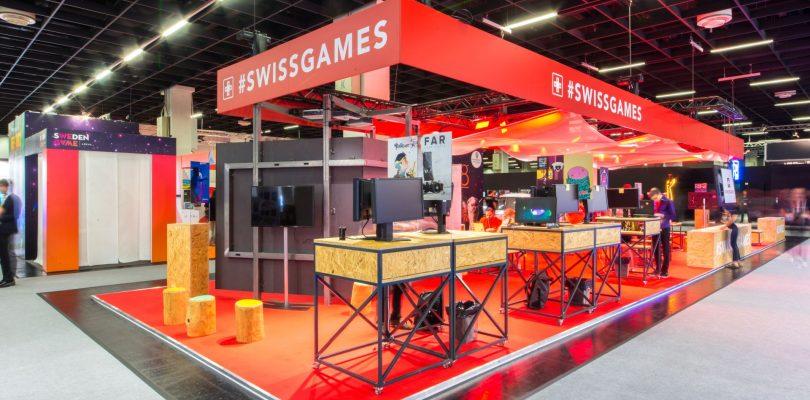 Swissgames präsentiert Spiele der Eigenossen auf der gamescom 2019