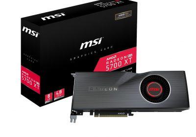 RX 5700 & XT – Neue MSI-Grafikkarten für AMD Radeon