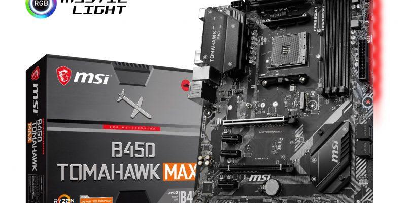 MSI stellt die neuen 300- und 400-MAX-Mainboards für AM4 vor