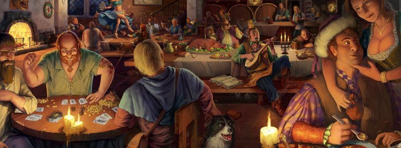 Crossroads Inn – Tavernen-RPG erscheint am 23. Oktober