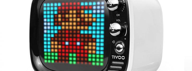 Divoom Tivoo – Bluetooth-Lautsprecher mit selbst gestaltbarer Pixelfront